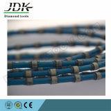 El alambre plástico del diamante de la fijación vio para ajustar del bloque del granito y del mármol