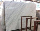 白い雲の白い大理石の平板をつけるGuangxiの白い大理石の平板