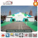 Grande tenda de exposições ao ar livre para as grandes Feiras e Exposições