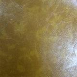 Leatheroid en PVC de haute qualité pour la fabrication d'ameublement de meubles et ameublement