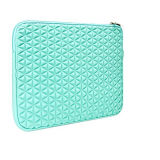 Cielo Azul en relieve diseño triangular de la bolsa de portátil de neopreno (NLS011)