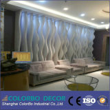 El panel de pared material del MDF de la decoración de la pared interior 3D
