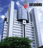 Ideabond Export-mehrfache Farbe PVDF, die preiswertes Wand-Dekoration-Material beschichtet