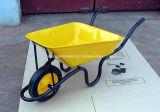 Carrinho de mão de roda do mercado de África