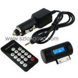 Mini Digital de alta calidad con el modulador del transmisor de FM y cargador de coche Remot Control para el teléfono