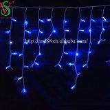 Caída Icicle cortina de luz LED de hadas en el exterior de la luz de Navidad
