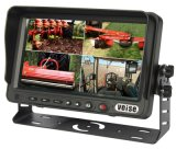 7 Inch Digital Color Rearview Camera System mit Quad Monitor