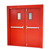 FM Commercial Fire Rated Glazed Door
