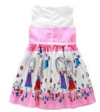 Fashion Girl Dress with Lovly Print dans les vêtements pour enfants