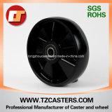 Schwarzes Nylon Wheel mit Ribs
