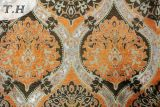Померанцовая картина жаккарда высокосортной конструкции софы ткани известным конструктором