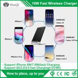 Caricatore senza fili veloce del basamento per per il iPhone 8/8 di Plus/X