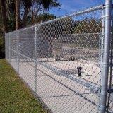 Загородка звена цепи PVC пластмассы Coated для спортивной площадки