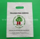 Kundenspezifische weiche Schleifen-Plastikträger-Beutel für das Tuch-Einkaufen