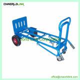工場使用法のTransporingの重い商品の鋼鉄デッキのカート