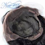 Capelli umani del merletto pieno con la parrucca brasiliana dell'onda del corpo dei capelli di Remy dei capelli del bambino