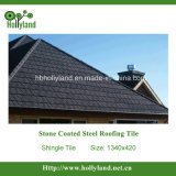 Telha de telhado revestida de pedra do metal (telha da telha)