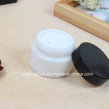 Witte Kruik Whiteware van het Glas van de luxe de Kosmetische 50ml