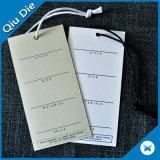 papier de carton de 1000g Thichness avec l'étiquette de chaîne de caractères de cire de coton