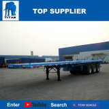 Titan-Fahrzeug - Flachbettbehälter-Schlussteil für 20FT transportieren 40FT mit Torsion-Verschlüssen