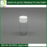 Bouteille de pillule en plastique des produits 50ml d'espace libre en plastique d'animal familier