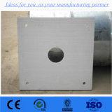 Isolamento de 6 mm da placa de silicato de cálcio
