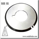 HSS Skh51のテープステッカーの波形のカートンの銅ホイルの刃物を切り開くNon-Woven衣服の布の管の管
