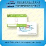La carte de visite d'affaires de modèles neufs modèle la carte de papier de cadeau
