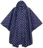 軽量の方法女性のためのナイロン雨ポンチョをカスタマイズしなさい