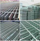 Grille en acier galvanisée de gisement de gaz d'IMMERSION chaude pour l'étage de plate-forme d'industrie