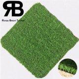 grama artificial ajardinando do Synthetic do relvado do gramado do tapete da decoração do jardim de 15mm