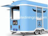 Передвижные тележки еды/передвижные трейлер еды/мороженное Van