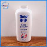 De hete Verkopende Plastic Fles 100g/200g/500g van het Talkpoeder van de Baby