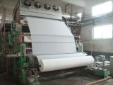 la chaîne de production de papier de toilette de tissu de 1575mm, perte réutilisent la centrale de papier