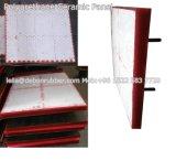 Polyurethan-keramische Gummiabnützung-Zwischenlage-Platte für Rutsche