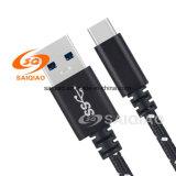Usb-3.0type-C geflochtenes aufladenkabel (5A) für Samsung