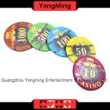 Plastikchips des schürhaken-760PCS eingestellt/für Spieler des Kasino-5 - 8 (FM-FOCP003)