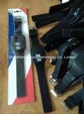 Regalos de promoción de silicio de la pantalla táctil LED reloj digital