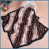 70*70cm Confortableの女性のための正方形のあや織りのサテンのスカーフ