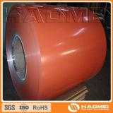 la bobina di alluminio ha verniciato 1060 1100 3003 3105 5052 5754