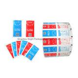 Lingettes humides Pack papier aluminium fabriqué en Chine