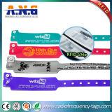 RFIDバンド医学患者IDのブレスレットの札