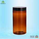 1000ml Pet Large Food Storage Plastic Jar para Tea-Leaf