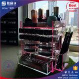 China-Hersteller-Rosa-Farbe, die Acryllippenstift-Bildschirmanzeige dreht