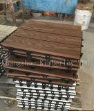 Grãos de madeira WPC piso bricolage sólido