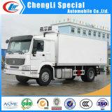 HOWO 4X2 camion congelato 4 tonnellate