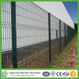 50X200mm Maschenweite-Hochleistungsmetalldraht-Ineinander greifen-Zaun