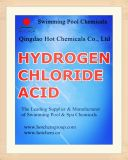 Muriatic grado Industrial ácido (Ácido Clorhídrico) CAS 7647-01-0.