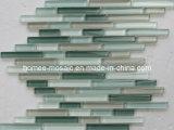 tuile linéaire de mur de mosaïque de verre cristal de balle