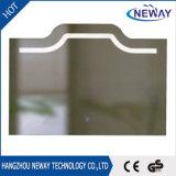 Specchio della stanza da bagno di Frameless LED con l'interruttore del sensore di Dimmable